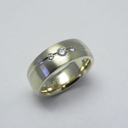 Ring aus Kundenaltgold
